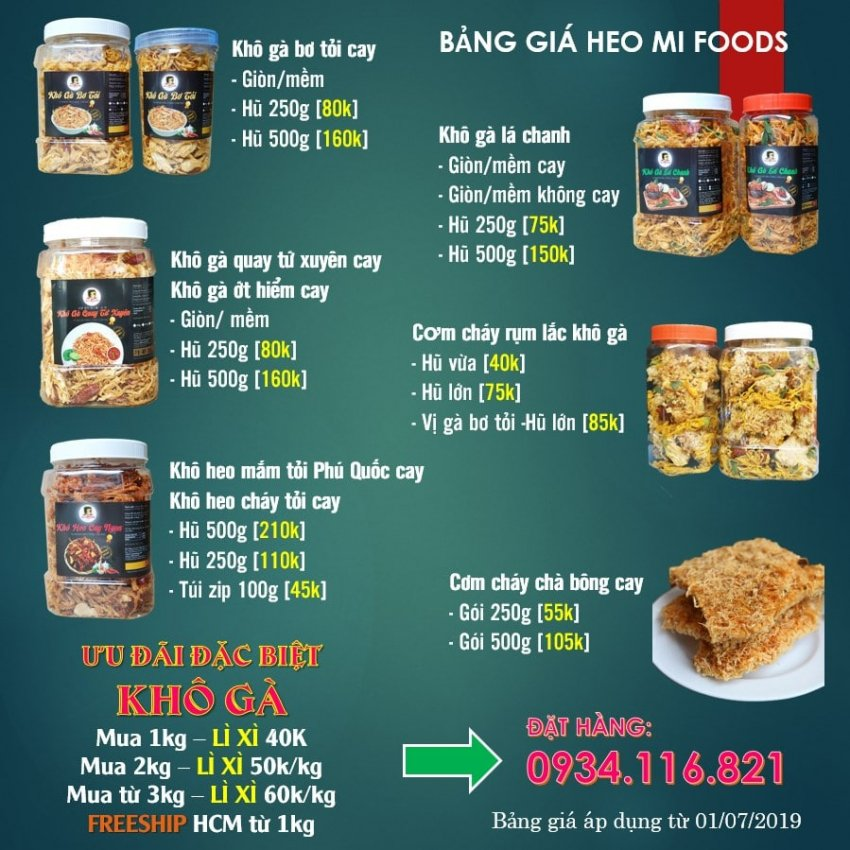 kho ga Heo mi foods